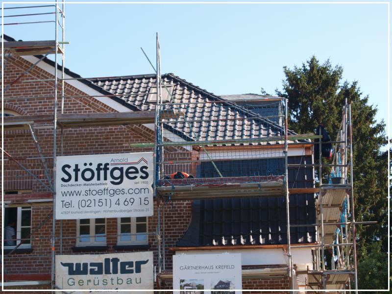 Leistungen von Arnold Stöffges GmbH | Dachdecker Meisterbetrieb in Krefeld am Niederrhein - Dächer, Fassaden, Abdichtungen & Reparaturen am Dach seit 1900