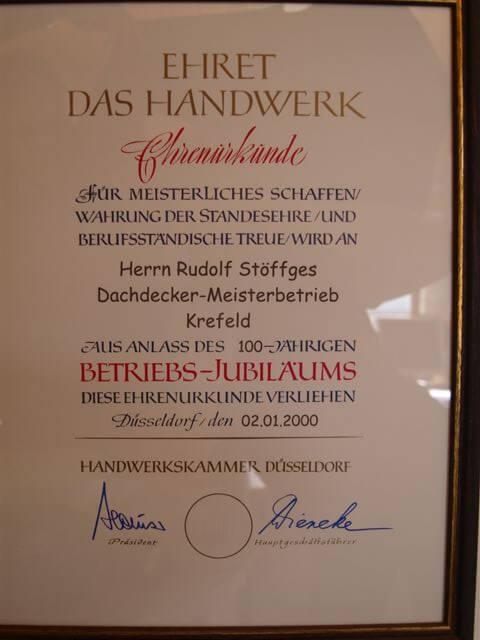1979 übernimmt Rudolf Stöffges die Firma